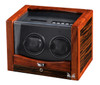 VOLTA DOUBLE WATCH WINDER (EBONY/ROSEWOOD)