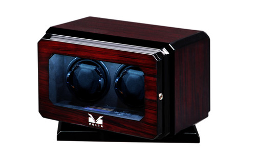 VOLTA 2 WATCH WINDER WITH ROTATING BASE (ROSEWOOD)