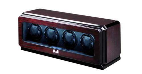 QUAD WATCH WINDER VOLTA 4 WATCH WINDER (ROSEWOOD)