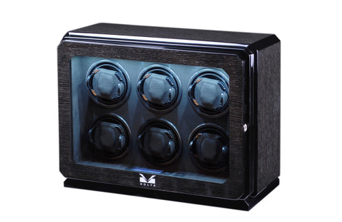 WATCH WINDER | VOLTA 6 WATCH WINDER (BLACK OAK)