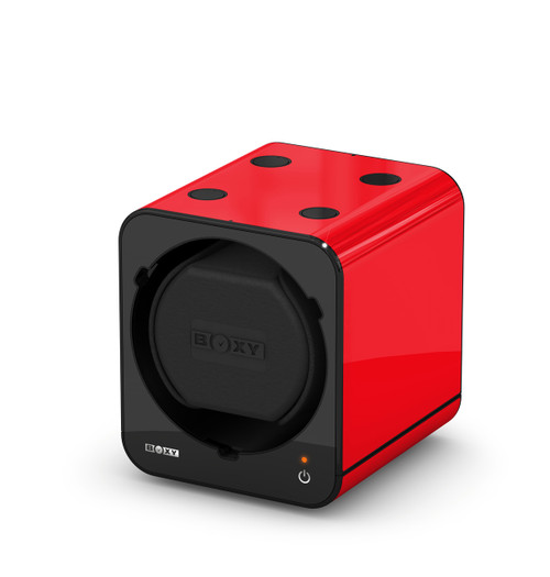 BOXY FANCY Brick Single Watch Winder  - Red (Add On)