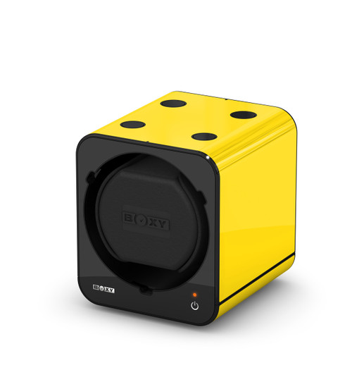 BOXY FANCY Brick Single Watch Winder - Yellow (Add On)