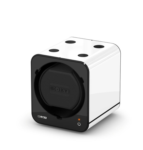 BOXY FANCY Brick Single Watch Winder  - White (Full)
