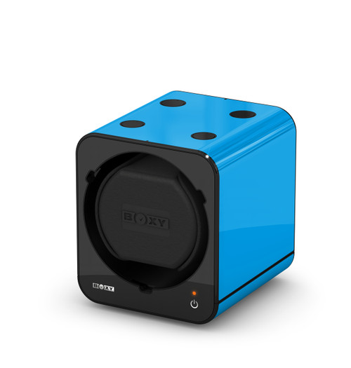 BOXY FANCY Brick Single Watch Winder  - Blue (Full)