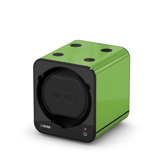 BOXY FANCY Brick Single Watch Winder  - Green (Full)