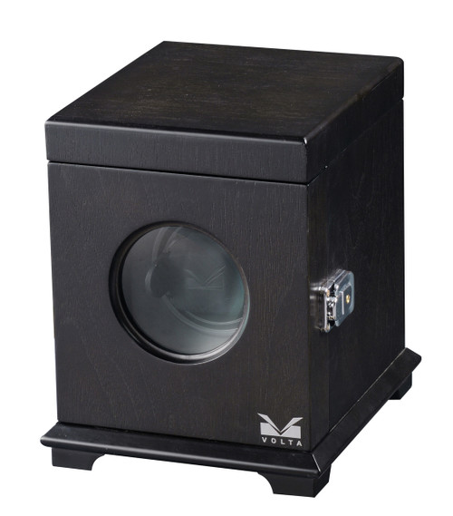 VOLTA SINGLE SQUARE WATCH WINDER (RUSTIC BROWN)