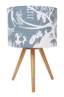 The Tree House Lamp Shade (Blue/Grey)