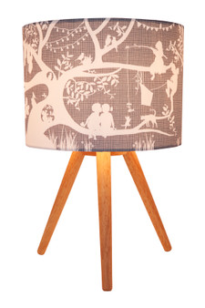 The Tree House Lamp Shade (Neutral)