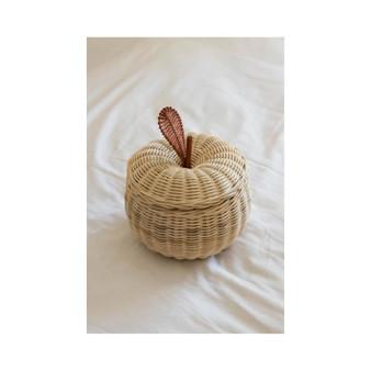 The Apple Rattan Basket