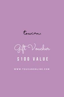 100 gift voucher card present