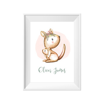 Kanga Personalised Name Print