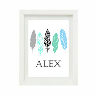 Feathers Personalised
