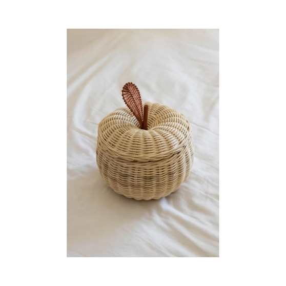 The Apple Rattan Basket