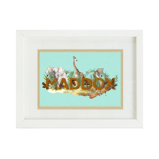 African Animals Personalised