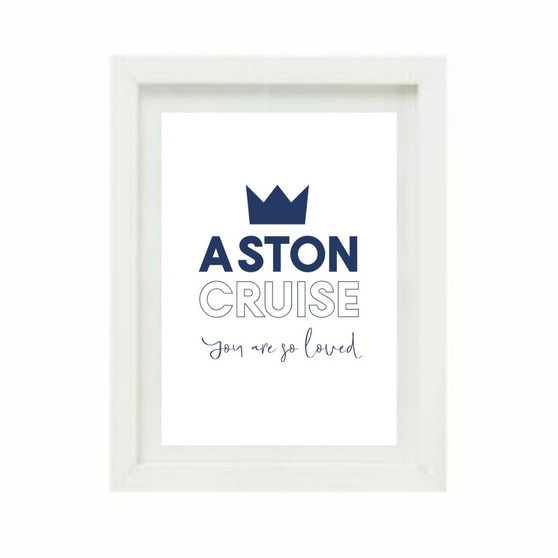 Our Prince Personalised