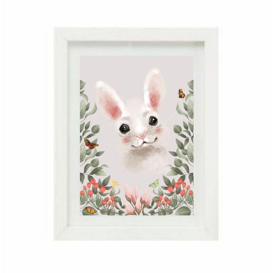 Woodland Bunny Pink