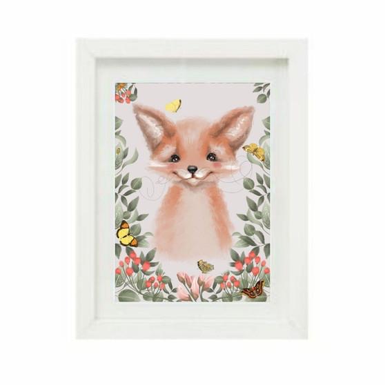 Woodland Fox Pink