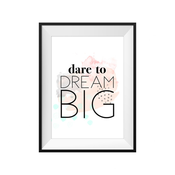 kids print wall décor art nursery art babys room décor whimsical pictures inspirational words quote motif