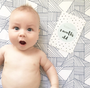 Speckled Baby Milestone Cards
