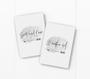 baby milestone card sets  arrow motif