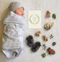 baby milestone card sets  leaf wreath motif leaf wreath motif