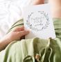 Wreath Pregnancy milestone cards