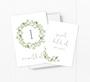Acorn Wreath Baby Milestone Cards