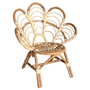 Rattan Kids Flower Chair