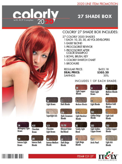 COLORLY 27 SHADE DEAL