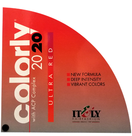 Colorly Ultra Red Swatch Chart