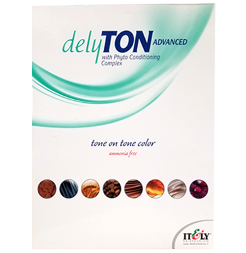 DelyTON Advanced Swatch Chart