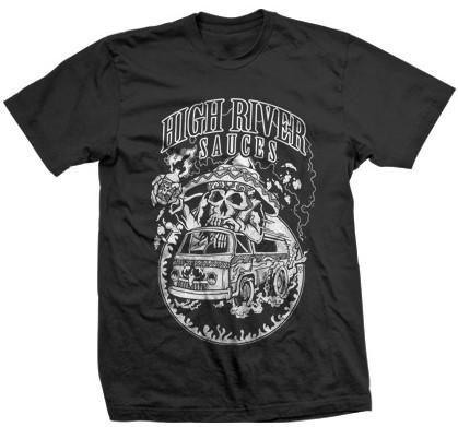 hell van design t-shirt