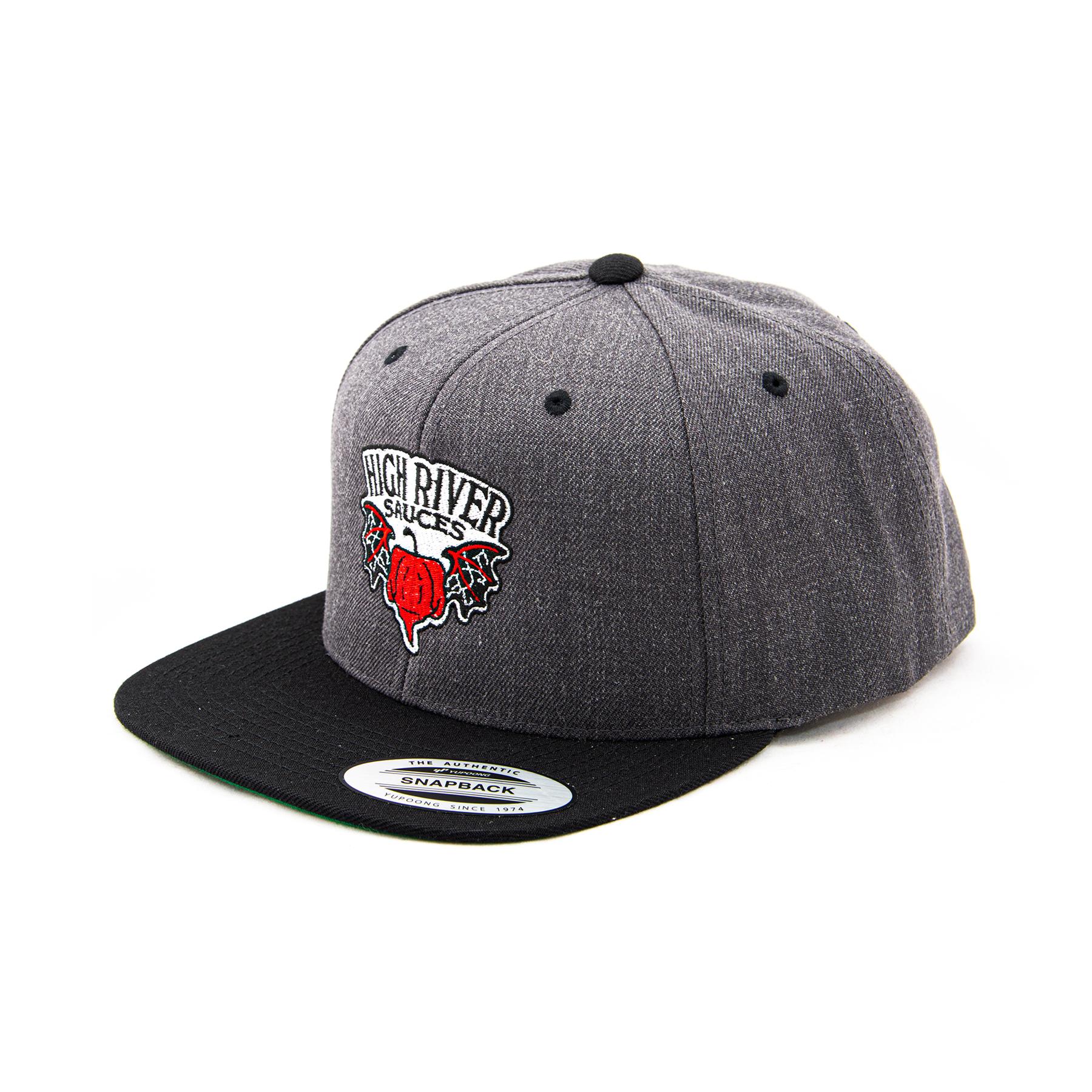 gray hat image 3/4 turn