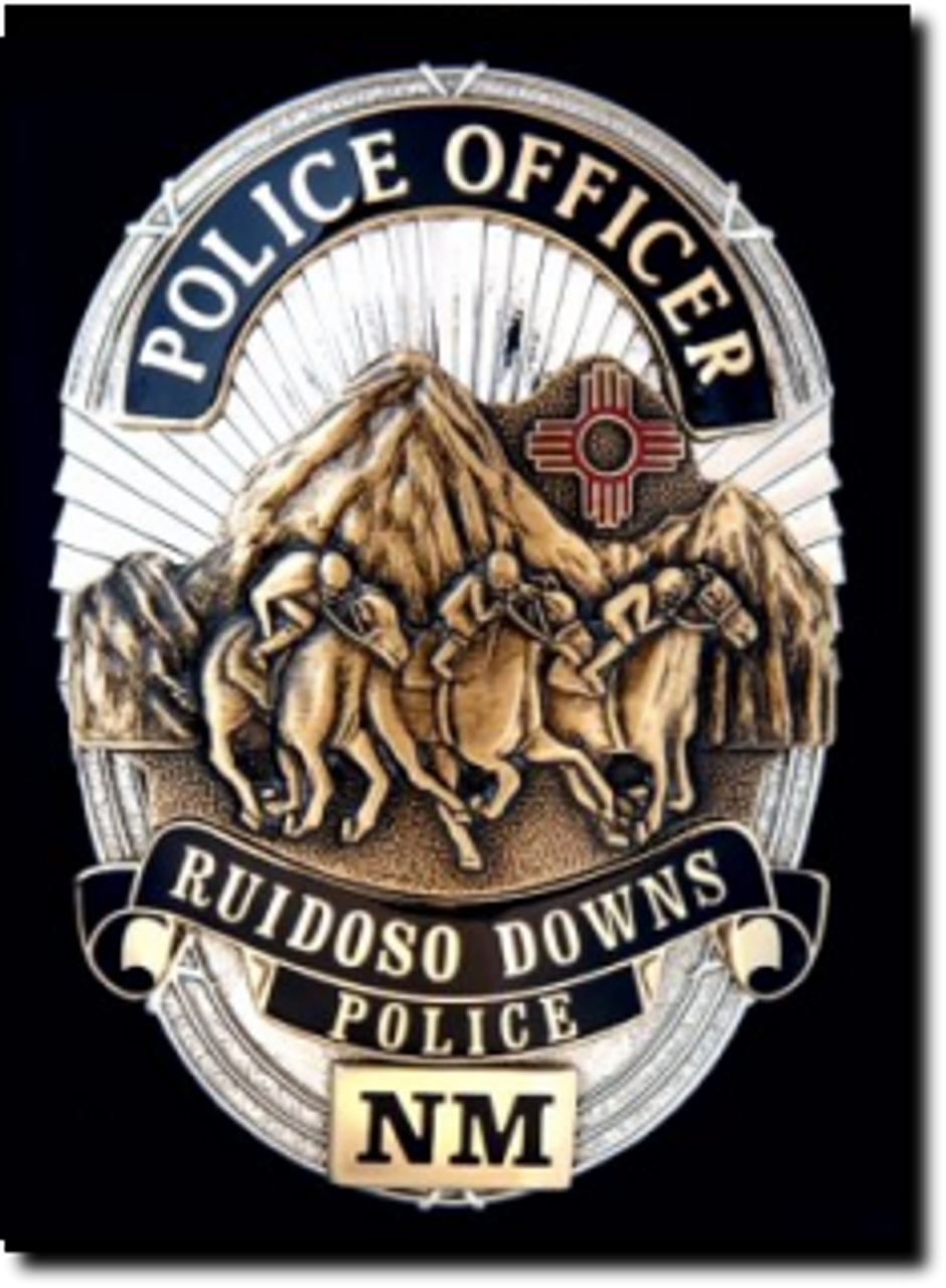 Silver Grand County Sheriff Badge Shield