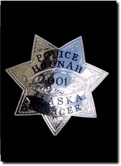 OFFICER Guntown - Authentic Police Badge - Lawman Badge Company