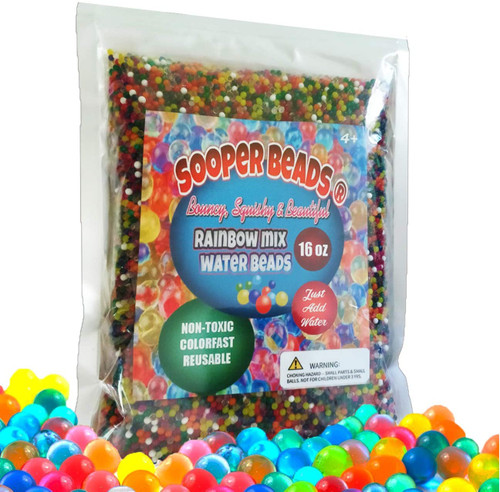 sooper beads waterbeads 1 pound value pack
