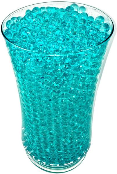 turquoise vase filler water beads sooper beads orbeez