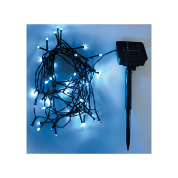 Eagle LED Solar Powered Outdoor String Lights 200 LEDs 20m Lunghezza [G606EB]