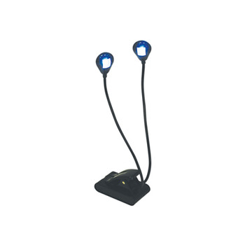 LED Twin Stand / Night Light con clip