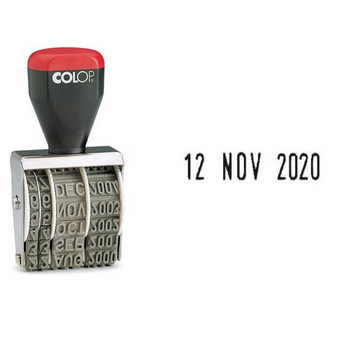 Colop Date Stamp Blister Pk05000