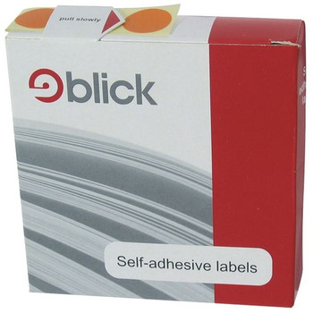 Blick Blue Labels in Dispensers Round 19mm (Pack of 1280) RS011453
