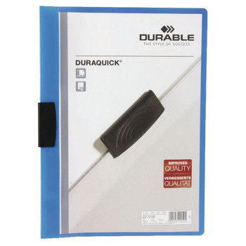 Durable Duraquick A4 Blue File (Pack of 20) 2270/06