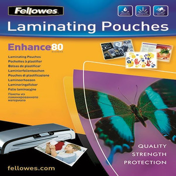 Fellowes A3 Laminating Pouch 160 Micron (Pack of 100) 5306207