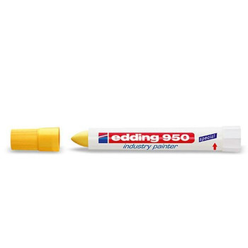 Edding 950 Industry Painter Yellow (Pack of 10) 950-005