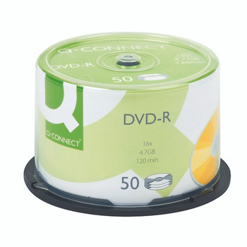 Q-Connect DVD-R 4.7GB Cake Box Pk50