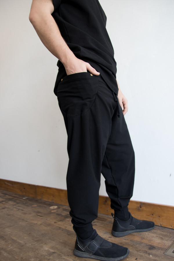 Side Pocket Joggers