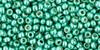 Toho Seed Beads 11/0 #76 Permanent Finish Galvanized Green Teal 20g