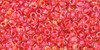 Toho Seed Bead 11/0 Round #79 In-Crystal/Tropical Sunset Lined 20 gm