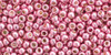 TOHO Seed Beads 11/0 Rounds #38 Permanent Finish Galvanized Pink Lilac 50 Grams