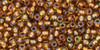 Toho Seed Bead 11/0 Round #94 Transparent Rainbow Honey Comb 50 gr